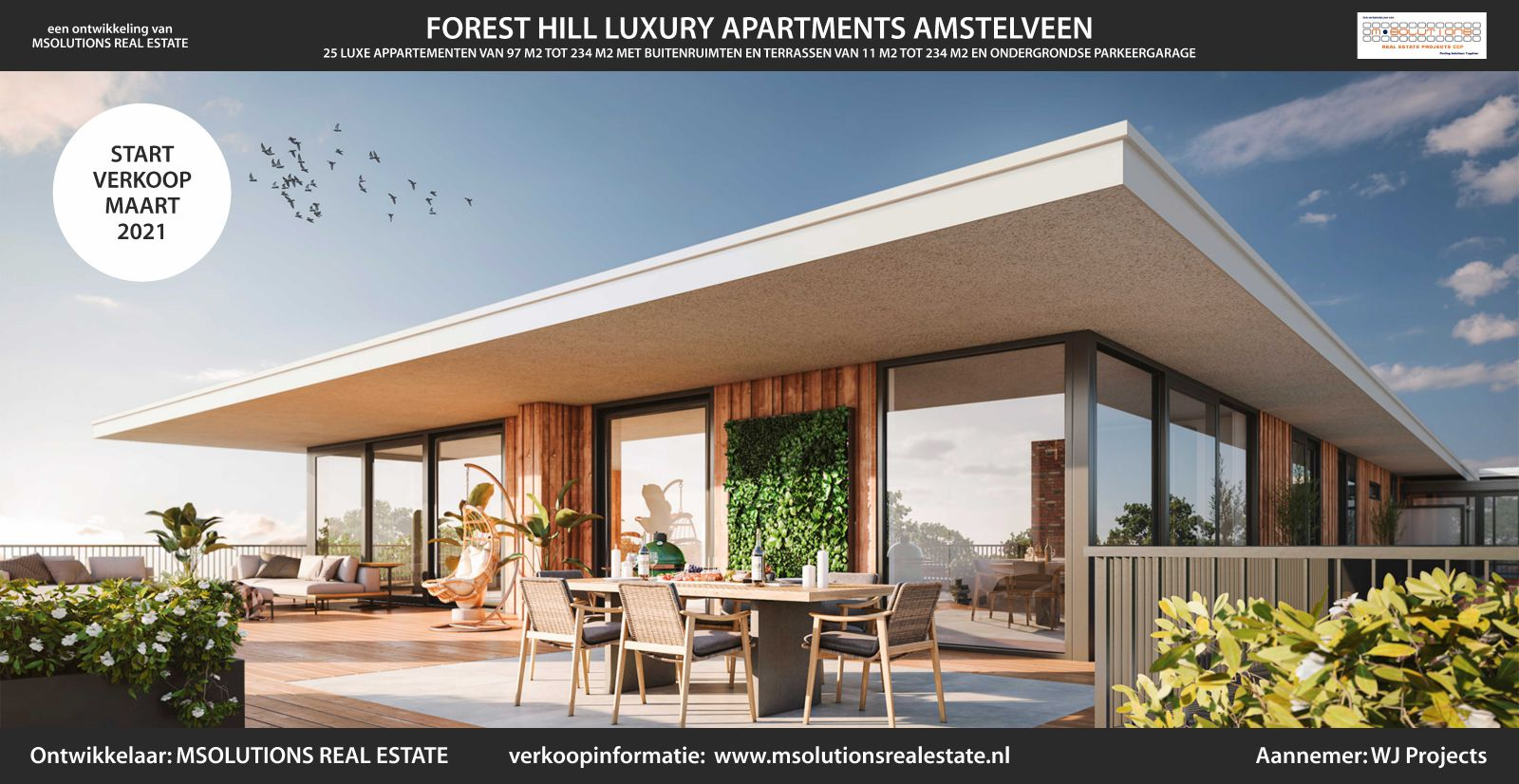 FOREST HILL LUXURY APARTMENTS AMSTELVEEN